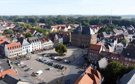 Marktplatz Stadt Kalkar